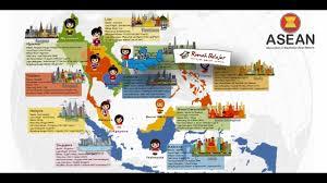 Sebelah utara berbarasan dengan kawasan asia timur lebih utamanya adalah berbatasan dengan negara cina. Ips Karakteristik Negara Negara Asean Youtube