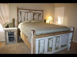 Exquisite Reclaimed Wood Bed Frame Design Ideas Youtube Throughout ...