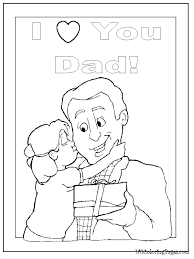 Small Picture coloring pages coloring pages happy birthday dad coloring pages