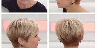 trendy short haircuts for older women 40 50