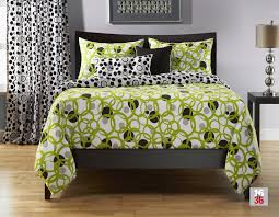 lime green black and white bedding lime green bedspread queen
