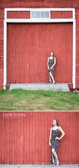 red and white barn doors. 33_Teenager Wearing Black And White Maxi Dress Poses In Front Of Red Barn Door.jpg Doors
