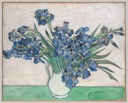 vincent van gogh artist heilbrunn timeline of art history  irises