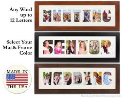 collage frame wordmat picture frame name cutout word art custom wall art personalized print picture frame photo letters multi photo prints from  on personalized photo collage wall art with collage frame wordmat picture frame name cutout word art custom wall