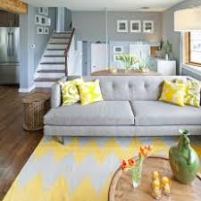 bright colored throw pillows. Exellent Pillows Living Room With Gray Tufted Sofa And Bright Yellow Throw Pillows Intended Colored