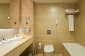 Simple Small Bathroom Designs With Rectangular White Bath Tub Also - Small bathroom with tub