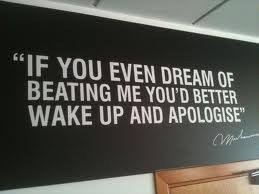 If You Even Dream Of Beating Me Quote Best of Quote Of Muhammad Ali QuoteSaga