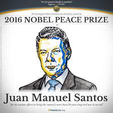 Resultado de imagen para premio nobel a santos