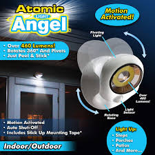 Light Angel Troubleshooting Official As Seen On Tv Atomic Light Angel Cordless Motion Activated Led Light By Bulbhead Swivels 360 Degrees Pivots Shining 460 Lumens Atomic