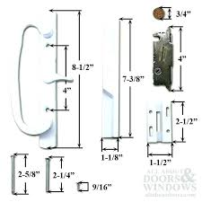 full image for sliding glass door locks replacement full image for pella sliding glass door lock