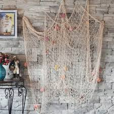 Decorative Fish Netting Aliexpresscom Buy High Quality Fishing Net Bar 3d Wall