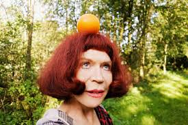 Free Fotobanka Lidé žena Ovoce ženský Oranžový Portrét Model