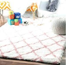 pink bedroom rug nursery rugs for girls baby pink cloudy trellis soft plush bedroom girl
