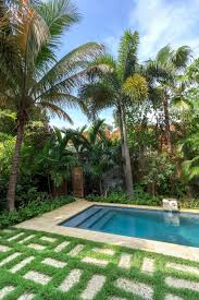 Backyard, Astonishing Green Rectangle Contemporary Grass Design Your  Backyard Decorative Swimming Poll Ideas: fascinating