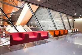 Perth Arena, Australia: Vip area with Nube armchairs