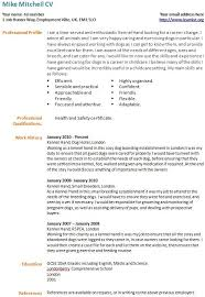 How To Write A Resume When Changing Careers Sample Resume For