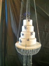 hanging chandelier cake stand sets fresh glass crystal chandelier style d suspended by