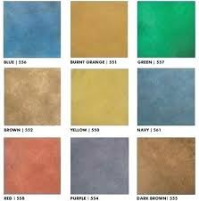 Concrete Floor Color Chart Concrete Floor Colors Comertecsa Com Co