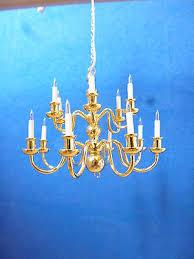 dolls house lighting 18 arm chandelier elite range lt8014