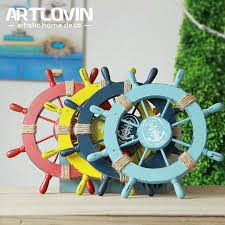 Boat Decor Accessories Extraordinary Aliexpress Buy Mediterranean Marine Wall Decoration Wood Boat