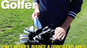 Titleist Grind Chart Titleist Vokey Wedges Bounce And Grinds Explained
