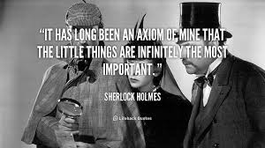 Sherlock Holmes Quotes Stunning QuoteSherlockHolmesithaslongbeenanaxiomof4848 The