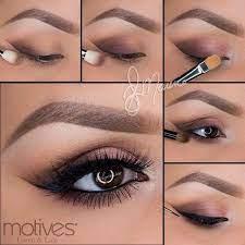 light brown makeup tutorial saubhaya