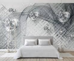 Behang Met Muurprint