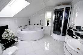 white tile bathroom floor. Bathroom Flooring Ideas \u2013 Design » Modern White Tile Floor A