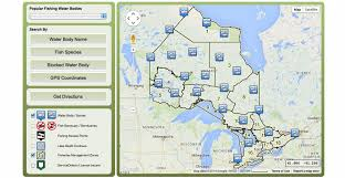 White Lake Ontario Depth Chart Online Map To Find Out Which Fish Species Are In Ontario