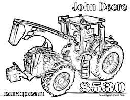 Tracteur John Deere Coloriages Des Transports