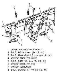 Chevy Window Regulator Diagram