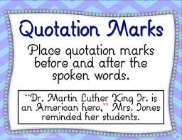 Quotation Marks Commas In Dialogue Task Cards
