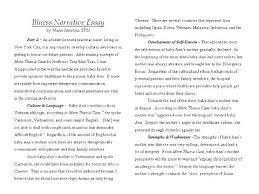 Example Of Personal Narratives Essays Narrative Essay Examples High School Bitacorita