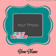 birthday wishes photo frames editing