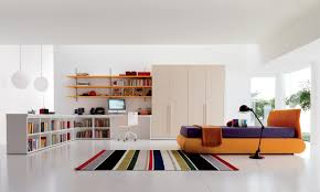 cool furniture for teenage bedroom. Kids White Study Room. Teen Room Cool Furniture For Teenage Bedroom