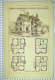 historic farmhouse floor plans inspirational antique home floor plans luxury vintage victorian house