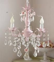 pink chandelier lighting. Darling PINK 3light Baby Chandelier With Roses By Gingerschoice 17900 Pink Lighting N