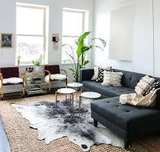 hide rug in bedroom miraculous living rooms adorned with cowhide rugs home design lover at rug hide rug in bedroom