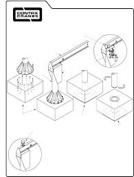 Jib Crane Base Plate Design Floor Mounted Jib Cranes Portable Jib Floor Mounted
