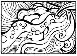 Abstract Coloring Pages Printable Adult Coloring