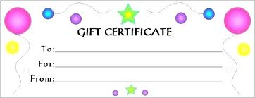 Plain Certificate Template