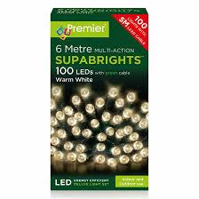 Supabright Led Lights Premier 100 Supabrights Led Lights Warm White
