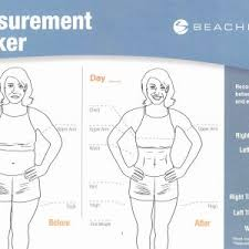 Weight Loss Measurement Chart New Health And Fitness