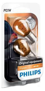 Купить <b>Лампа</b> накаливания <b>Philips PY21W</b> 12V-21W BAU15s с ...