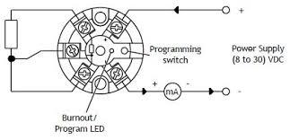 sem203p in head 4 20ma temperature transmitter for pt100 sensors sem203p wiring diagram