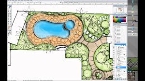 Small Picture one minute villa garden design wacom cintiq 24DH YouTube