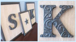 {DIY Decor} DIY Foil Letters - YouTube