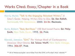 Work Cite An Essay In A Book Mistyhamel