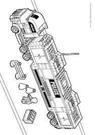 Lego City Coloring Pages To Download And Print For Free Coloring